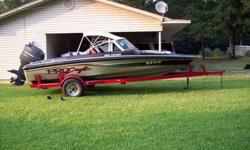 1991 Pro Craft 180 Combo Fish/Ski, 150 Mariner, SS Prop, 12/24 hideaway Trolling Motor, Bimini Top, Fish Finder, Am/Fm CD Radio, New Tires, New carpet and Seats Recovered, All Good Glass, Lots Of Storage, Very Nice, Very Fast Boat $4,800 (870)-364-5689
