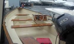 """2007 Stur-Dee Boats 16 AMESBURY SKIFF Nice little package! A Great way to get """"Out There"""" with a classic look! For more information please call"""