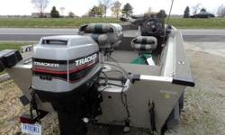 1998 Bass Tracker Deep V sixteen ' Road cover,Depth Finder,Trolling engine,Night Lamps,Electric Anchor mates front and back,Rod Storage,Motor Tote,Two Owner Boat , Garage Kept. $4900Reply to 765-432-3553Listing originally posted at http
