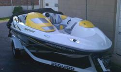 2006 Seadoo Sportster for auction here. Its a wonderful little jet boat that I have very much enjoyed, just don't have the time to get out as much anymore. I'm selling it at the perfect time for a new owner. It just had a new engine installed last week.