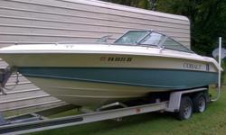 I have a 1988 20' Cobalt bowrider for sale. It has 5.0 V8 with 411 hours on it , with stainless steel prop, dual batteries. all aluminum tandem axle trailer sold on a bill of sale. Boat has been kept in a boat house since I bought it and in a boatel prior