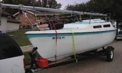 These Hall of Fame boats are true American classics, exemplars of the extraordinary skill and ingenuity of American boat builders and are still in production. By their sheer excellence, they have made sailing better. The popular MacGregor 25 was the