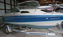 1988 Bayliner 19 Capri, Single axle trailer included! Listing originally posted at http