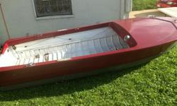 13 foot well built boat. Comes with 5 horsepower motor. $500 or tradecall or text 330-881-6348