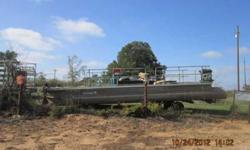 1978 pontoon with tilt trailer call 580-856-4027 or 580-668-1260Listing originally posted at http