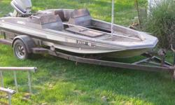 81 BASSCAT ,115 EVINRUDE LAST RAN seven yearS WHEN PUT INTO BARN.TURNS OVER.HAS EVERYTHING TO TO UP GRADE PONTUNE DONT HAVE TIME TO RESTORE 500.00 OBO CALL JOE 317-412-3695Listing originally posted at http