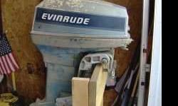 I have 2 50hp evinrudes for $500 eachBoth are long shaft, set up for steering wheel controls, run good, shift good, pump water good, and come with controls. Both are early 70's with the pushbutton electric shift lower units. Both come with good props.