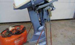 A GREAT running little six horsepower Evinrude outboard engine with fuel tank and stand, for your small boat. This motor runs well and is ready to go, just put on your boat and go.$500.00, 770-0966 or e-mail.Listing originally posted at http