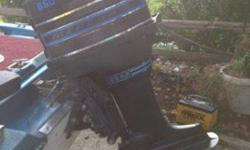Mercury 85HP outboard. Engine runs great. Comes with controls. New Battery and two 5 gallon fuel tanks. E-mail/text/call