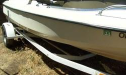 AFIBERCRAFT sixteen feet WITH TRAILER $350.00 . GREEN AND WHITE .. 16 feet REBEL WITH TRAILER HAS MOTOR NO OUTDRIVE. $350.00 CALL DAVE 541 300 0355Listing originally posted at http