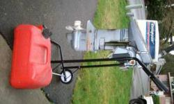 This a 1983 Evinrude 15 hp, comes with gas tank and hose, it was on the boat when I bought it..I dont have a need for it..sale as is.. (click to respond) Listing originally posted at http