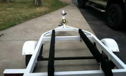 Its a one place jet ski trailer just got fixed up looks brand new If you have any questions call or txt or email at (click to respond)Listing originally posted at http