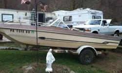 Selling my shoreline boat trailer , has title, single axle, its set up for a 18 ft boat, might take a bigger boat, $500 or trade for utility trailer 10 ft or bigger443-417-0003Listing originally posted at http