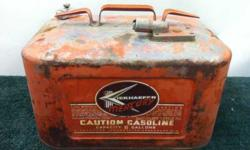 Kiekhaeffer MERCURY six gallon gas tank. Terrific condition, no dents, no leaks. Ready to use or collection, or man cave or? Call or text 208-315-0440. Leave message if no asnwer and will get back asapListing originally posted at http