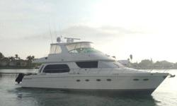 """2006 Carver 56 VOYAGER ** Motivated owner, all reasonable offers considered!!**The only 560 Carver powered by preferred CAT C-12's! One must board """"Calusa"""" in order to appreciate her condition. A few of the notable options are as follows"""