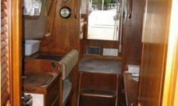 Full keeled 25 ft. ketch. Built in Great Britain in 1989. New Universal diesel engine installed in 2005, has 300 hours now. Sleeps 5. Furuno radar,Sitex color sounder,Garmin GPS mod 192c. Toyo heater. Located in Craig, Ak.