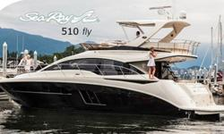 Visit www.BallastPointYachts.com for photos and detials.Only 80 hours & Under Warranty - Why Buy New?T he open, spacious salon with a sliding door leading to the cockpit, opening sunroof over the expansive flybridge seating and a three-stateroom layout