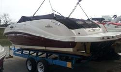 2007 Sea Ray 260 SUNDECK This one owner Sea Ray 260 Sundeck is ready to be part of your families onwater activities. With the large cockpit seating and massive bow area you can take the entire family.Sea Ray is well know for the smooth riding
