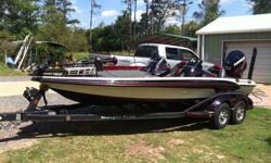 Type of Boat: Bass BoatYear: 2012Make: RangerModel: Z520Length: 20.9Hours: 165Fuel Capacity: 52Fuel Type: GasEngine Model: 250hp Evinrude E-tecMax Speed (Boat): 74Cruising Speed (Boat): 50Inboard / Outboard (Boat): Single OutboardTotal Horse Power: