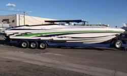 VERY NICE NORDIC,ONLY 380HRS,502 MAG EFI'S ENGINES,FULL SERVICE ON MOTORS AND DRIVES JUST COMPLETED,HUGE STEREO,TRAILER INCLUDED 928-855-9555http