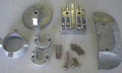 Mercruiser Alpha 1 Gen 2 Anode Kit is complete with hardware. All Zincs for Boats anodes are built to high quality standards and meet United States Military specifications.Tecnoseal's in-house laboratory facilities ensure the purity of the raw material
