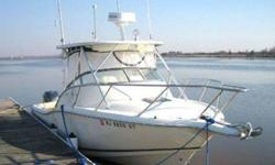 This 2002 Scout 280 Abaco has twin Yamaha F-225 s w less than 150 hrs. (obviously light use) She was purchased new in 2004! She is in turn-key condition and an excellent value! Contact Jim on 301-471-3148 or 703-323-7556 for any additional info or to