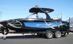 2010 Tige RZ2 Only $53,950No matter what your idea of excitement is, the RZ2 is built to deliver. The RZ2 has the same chiseled design and wide open bow as the larger RZ4. Featuring precision handling and the ability to throw awe inspiring wakes, the RZ2