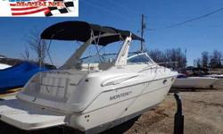 2004 Monterey 322 Cruiser For Sale by Heartland Marine Boat Sales - Sunrise Beach, Missouri Exterior Color