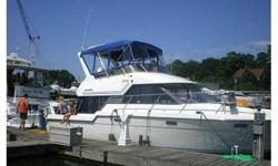 Excellent Boat for the money!! You Will Not Be Disappointed, In the water ready to go!!! Terrific Condition/SUPER CLEAN!! This is a beautiful cruising Yacht, Fresh paint on bottom of boat Galley steps up from living area, sleeps 6, sleeper dinette, salon