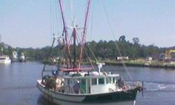 Deep Water Shrimp Boat. I am retiring. 60ft shrimp boat now working. Step on and make money. Big Cam Cummins main engine in like-new condition, big generator, all nets, great spreaders and excellent Strauss berg winch. Fiberglassed hull, large insulated