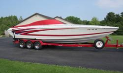 2001 Formula 312 Fastech, 216 hrs, twin 6.2 Mercruiser Bravo I, Triple axle trailer with all new tires. stored inside, professionally maintained, used in fresh water only. This boat is in excellent condition, used only on weekends, under cover and on