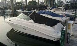 2010 Sea Ray 240 SUNDANCER This boat is in pristine condition, dealer maintained, only been in the water since July 2011. She is loaded with options including