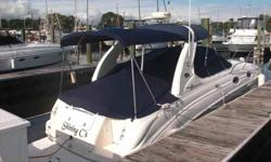 2004 Sea Ray 280 SUNDANCER Shining C's is in the water and ready to go, included in the sale is a slip at Cove Marina in Norwalk for the balance of the 2012 season options include