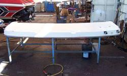 LARGE FIBERGLASS SWIM PLATFORM FOR 30' TO 40' CABIN CRUISER - COMES WITH MOULDING AND BUILT-IN SWIM LADDER - INSTALLATION AVAILABLE $575.00 OBO CALL 623-435-0939