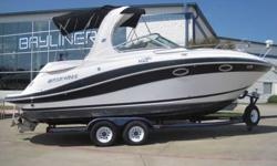 2007 Four Winns 278 VISTA Blue and white Four Winns 278 Vista with custom trailer. Powered with a 5.7 GXi Volvo Penta/duo prop system 320hp. Other options include