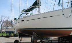"Beautiful 2000 Beneteau 311. 18 hp Yanmar. Sails in good condition. New Jib 2012. New winter cover 2009. This is a very nice boat. I can send full boat specs upon request. 10'4"" Beam, 4'10"" Draft, 47' MAST Ht Sleeps 6"