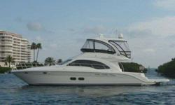 "2007 Sea Ray 52 SEDAN BRIDGE 2007 Sea Ray 520 Sedan Bridge! One look at ""Karma"" and it becomes evident that she has been cared for properly! Captain piloted and maintained at regular intervals. New bottom paint as of September 2012. A few of the notable"