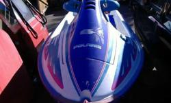 POLARIS 750 WAVE RUNNER 3 CYL 2 STROKE MOTOR NEEDS WORK WIRING ISSUE WAS WINTERIZED AND HOSES LOSTIF YOU KNOW THESE PWC'S THEN YOU COULD HAVE A GREAT MACHINE FOR NOT MUCH INVESTEDPLEASE NOTE