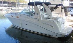 2006 Sea Ray 260 SUNDANCER Beautiful White Hull 2006 260DA This boat is located under cover on Fresh Water Lake Lanier. With only 168 hours the MX 6.2 MPI (320 HP) engine has plenty of life left in her.This 260 is also equipped with a 5.0 KW Gen Set that