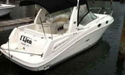 """2008 Sea Ray 260 SUNDANCER This 26 Sundancer is loaded with features.. great deal for a great boat contact Oscar Mercado for more information on this """"like new"""" boat For more information please call"""