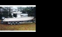 ?Lightweight, fast, and a blast to drive? that?s how the PowerBoat Guide describes the Contender 27. She?s a top-quality center console with all the built-in features you are looking for with clean lines, integrated transom, and deep-v narrow-beam hull.