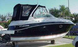 2007 Four Winns 288 VISTA This is a Brokerage listing. Only 360 hours on the twin 5.0L Volvos on a inside rack stored since new. The boat has been kept in immaculate condition by an owere that really cares for his things. There is AC and a generator. Full