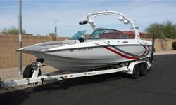 2013 Supreme V226There are no rips or tears, no hull scratches, never been beached and holds 15 people legally and comfortably!This 23' boat has more interior room than all 24 footers on the market today.Features:5.7L 330HP Mercruiser black scorpion
