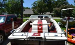 1975 MasterCraft Stars & Stripes Ski Boat. 351 Windsor. Ready to go skiing. Kept in covered boat storage. Tagged. Tags in the images show to be outdated, but, some of these images were taken when we got it. Open Title in hand. $5000 obo. 281-932-8137Here