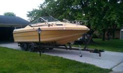 1979 27 feet. Caravelle CX240. NICE!!Comes with 30 feet trailer. Needs a little TLC. Interior needs work done. Has no motor. Weight of boat is 4500lbS. The boat is in really attractive condition! Asking 5,000.00 OBO. I may consider trades + Cash. Call or
