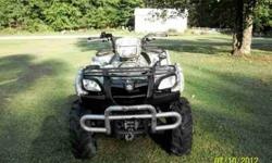I HAVE seven SUZUKI VINSON 500 QUADRUNNER 4X4 FOR SALE OR TRADE FOR PONTOON 24 feet OR EQUAL VALUE.THE 4-WHEELER HAS 2500PD WARN WINCH.IT ALSO HAS FRONT PUSH BAR.3 QUARTER TREND ON ITP MUD LITE TIRES.ITS AUTOMATIC, PUSH BUTTON 4X4 ADVANTAGE X4 HD-CAMO ALL