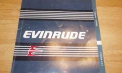 1987 Evinrude Owner's Manual for models 5/6/8. $5.00 509-543-9318Listing originally posted at http
