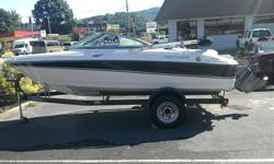 This is a beautiful Four Winns Horizon Runabout. This boat is in pristine condition. It was used for years as a traveling show boat at various shows and expos across the country. The only wear is in the interior wear as viewers got on board to look at it