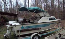 20ft starcraft cutty boat with trailer in attractive condition call cell; 205- 983-4200 $ 4.500Listing originally posted at http