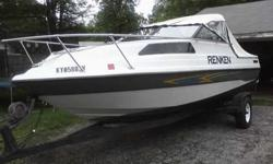 Renken 5-Seat Cabin Boat For sale only $5300 or best offer Vortex V6 Inboard-OutBoard Perfect interior and a front cabin NICE BOAT